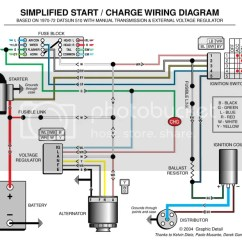 One Wire Alternator Wiring Diagram Ford 2005 Acura Tl Door Speaker 12v Pos. Ground To Neg. - Electrical Ratsun Forums