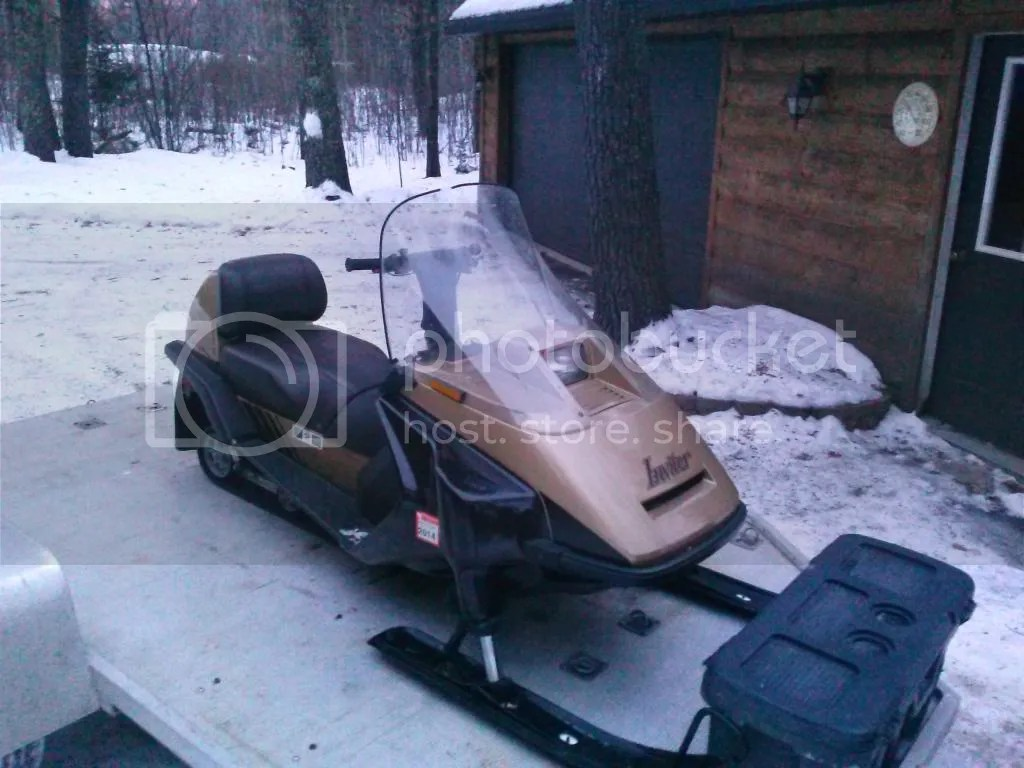 Yamaha Inviter 1989 Snowmobile