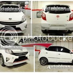 Toyota New Agya Trd Foto All Kijang Innova Bodykit Ss
