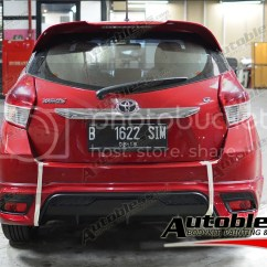 Bodykit All New Yaris Trd Warna Toyota Grand Veloz Baru Accessories 2014 Autobless Spoiler For Show