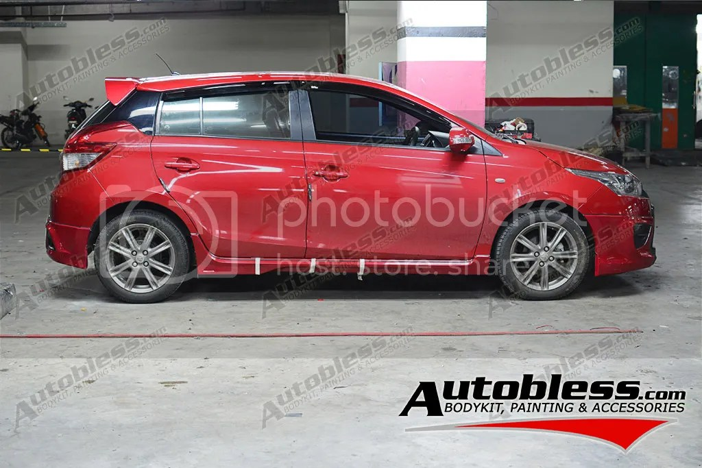 bodykit all new yaris trd toyota india baru accessories 2014 autobless spoiler for show