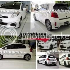Bodykit All New Yaris Trd Grand Avanza Limited 2012 Untuk 2008 2011 Dan 2014 Toyota S