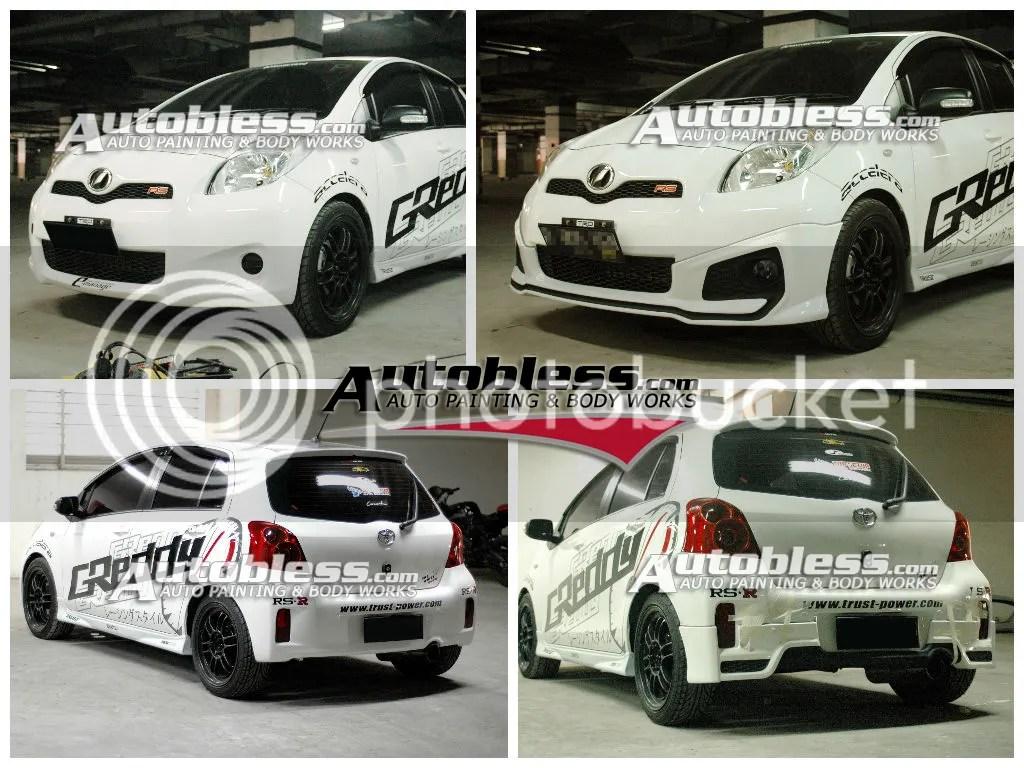 toyota yaris trd modif new agya bodykit 2012 untuk 2008 2011 dan 2014