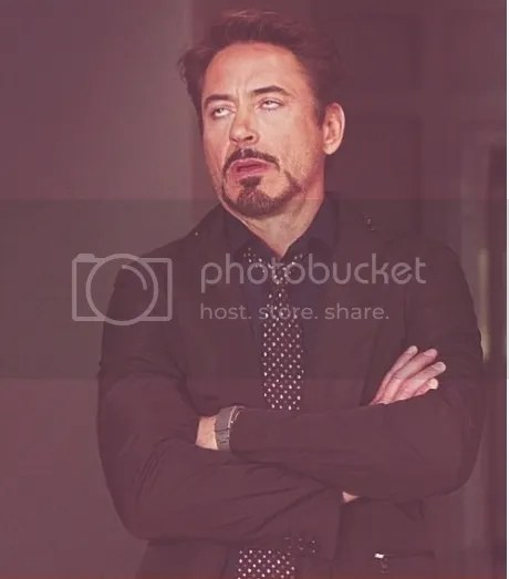 robert downy jr eye roll