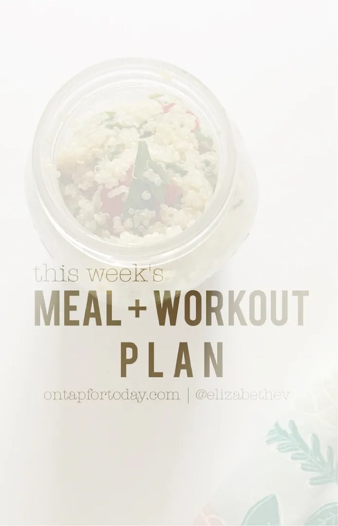 meal plan July 17