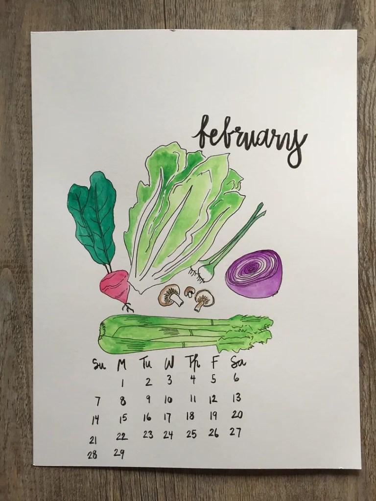 february printable calendars
