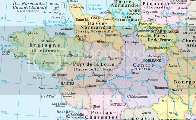 Francia Cartina Da Banco Bi Facciale 29 7x42 Cm Carta