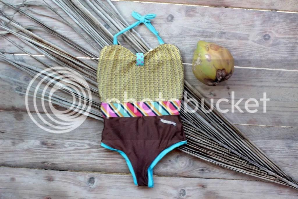 MIAHMO bikinis MH16023 Entero one piece con cintura con efecto moldeador