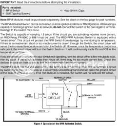 msd rpm activated switch wpm 8950 ebay rh ebay com solenoid switch wiring diagram shifnoid rpm switch [ 983 x 1024 Pixel ]