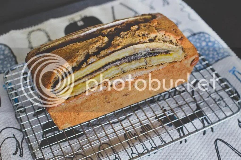 Banana, Orange and Walnut Bread