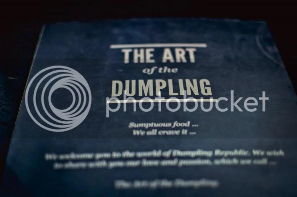 Dumpling Republic Menu