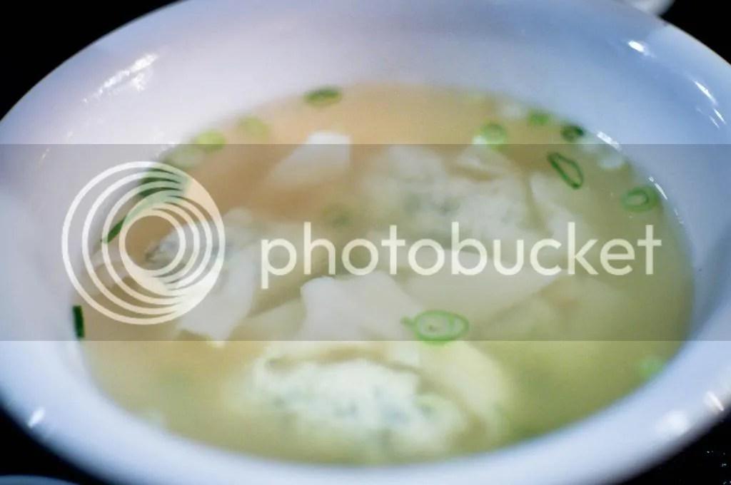 Fish Wonton Soup