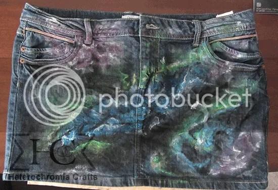 Falda espacial: Segundo paso