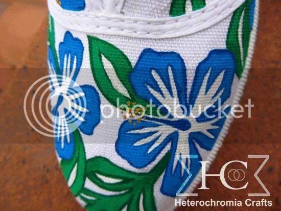 zapatillas shoes diy hawaii summer flowers