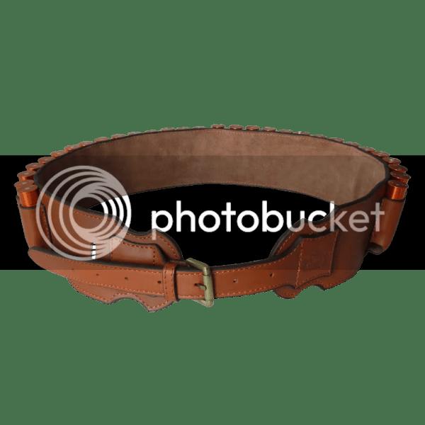 Genuine Leather Shotgun Shell Holder Belt Ammo Cartridge