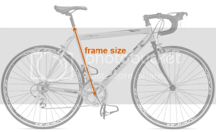 How To Measure The Bike Frame Size | Frameswall.co