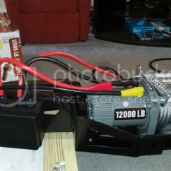Harbor Freight 12000 Winch Wiring Diagram Chevy Turn Signal Sdhq Hidden Mount Page 2 Tundratalk Net Toyota Tundra 1 Out Of The Box Preparation