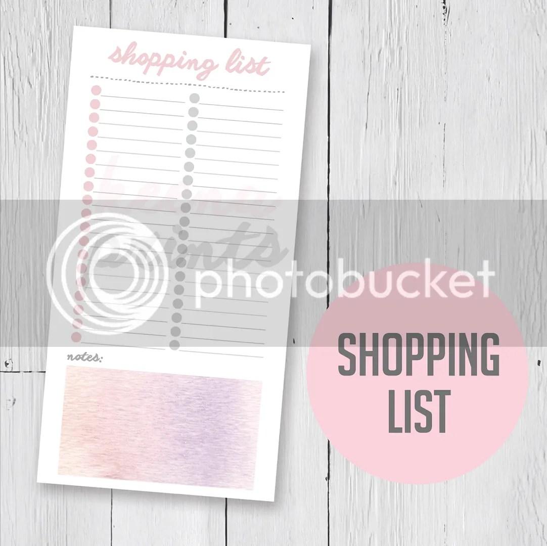 shopping_list_organize_planning_planner_printable_keenaprints_journal_kikkik_filofax_midori