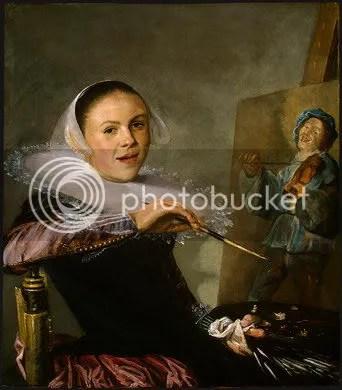 1633-35 Judith Leystersjälvporträtt