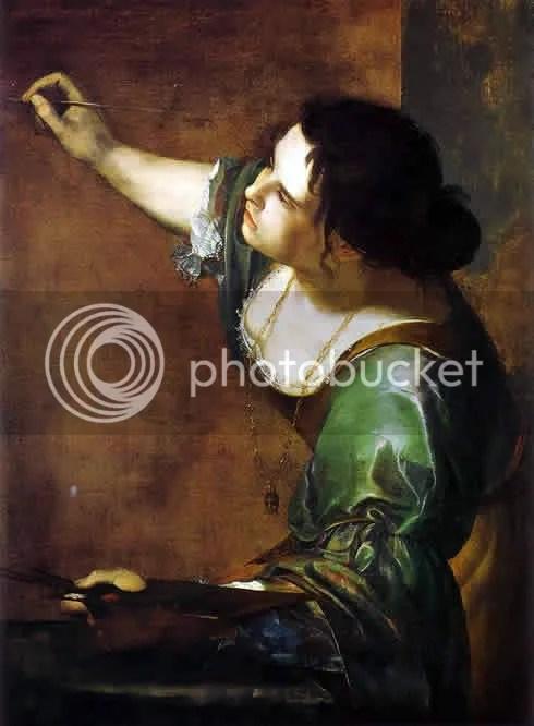 Artemisia Gentileschi, självporträtt