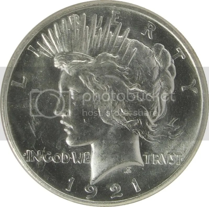 1921 Peace Dollar VAM1H  Struck from Satin Proof Dies  Collectors Universe