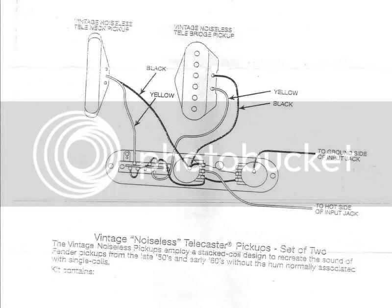 Wiring Diagram For Fender Telecaster Pickups – Readingrat Net