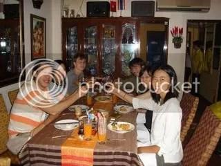 inside Con Voi Restaurant