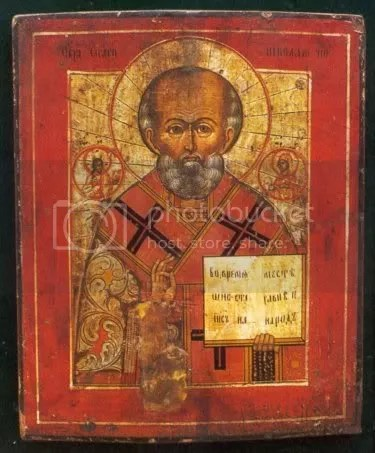 St. Nicholas icon, feast day december 6