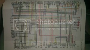 need wiring diagram for 1997 gsxr 600 (needs to have white