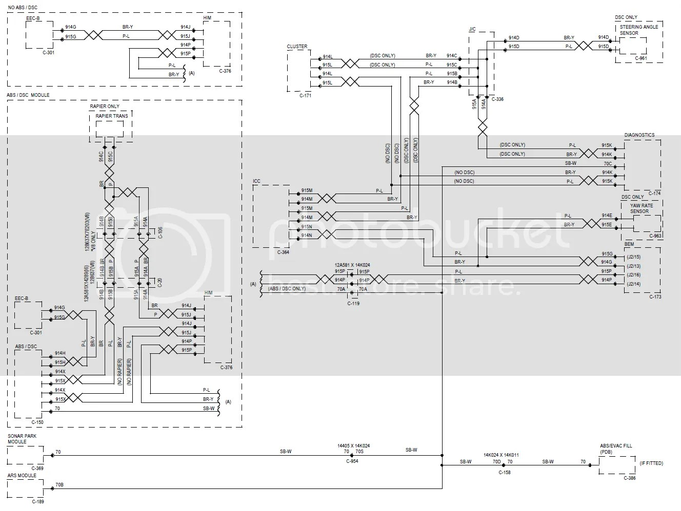 bf falcon stereo wiring diagram of avian flu ba sx sy scantool fun fordmods