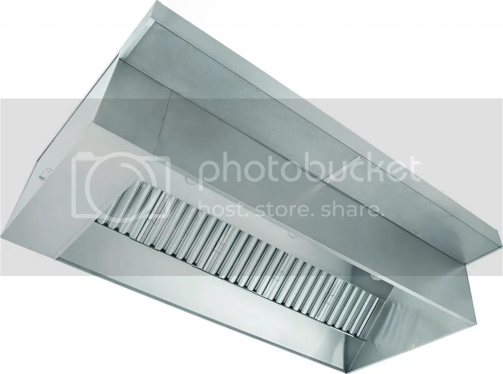 4 Commercial Kitchen Ventilation Restaurant Hood Pkg