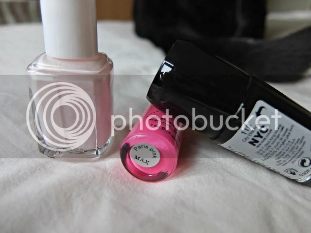 pink leopard nailart