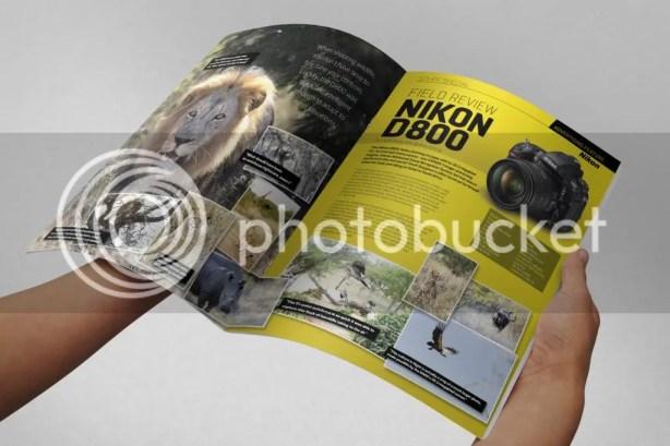 Nikon D800 advertorial for Stuff Magazine, August 2012