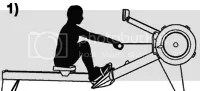 the catch rowing position