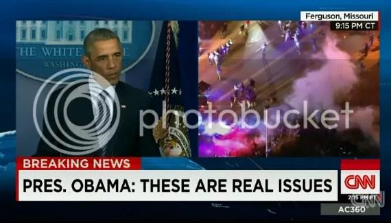 Obama race riots