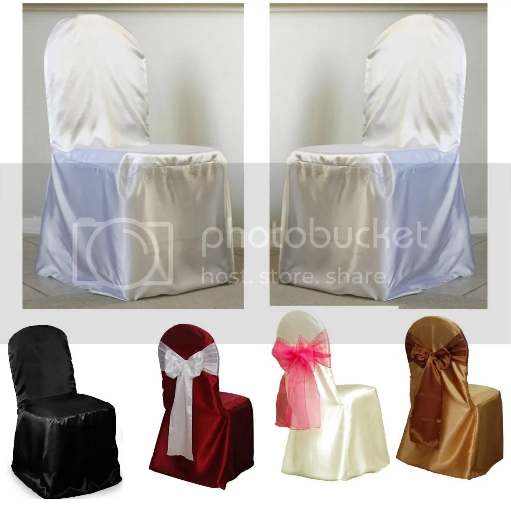 white folding chair covers ebay rail corners without coping black satin banquet round top cover for