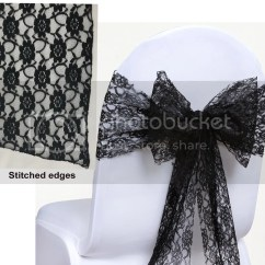 Wedding Chair Covers With Bows Best Budget Office Lace Bow Sash For Cover Sashes