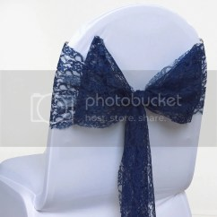 Chair Covers With Pink Bows Small High Wedding Lace Bow Sash For Cover Sashes