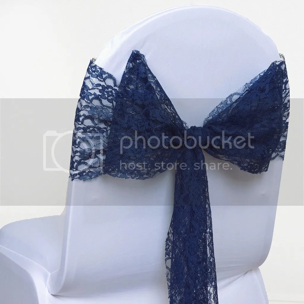 wedding chair sash lane lift chairs lace bow for cover bows sashes
