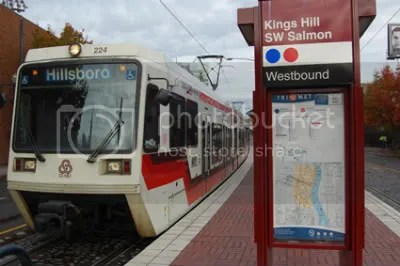 Kings Hill/Salmon Street MAX Station