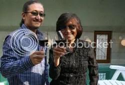 Yuko and Shin Kibayashi, the creators of Drops of the Gods