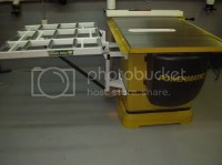 HTC Outfeed Roller Table for PM2000