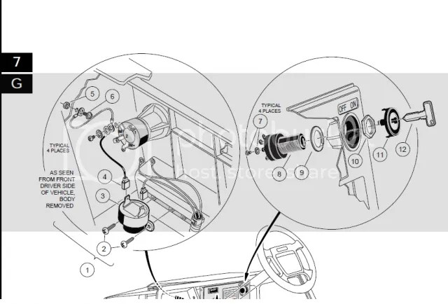 Ezgo Ignition Switch Diagram, Ezgo, Free Engine Image For