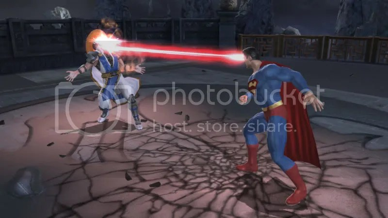 Raiden v Superman
