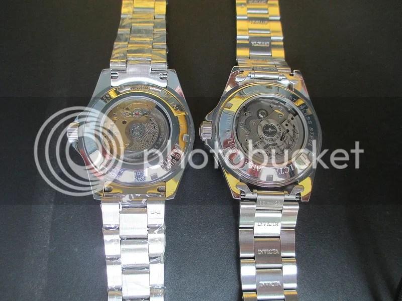 The comparison: Invicta 8926obv2 vs. Invicta 9937 - Invicta - WatchTalkForum