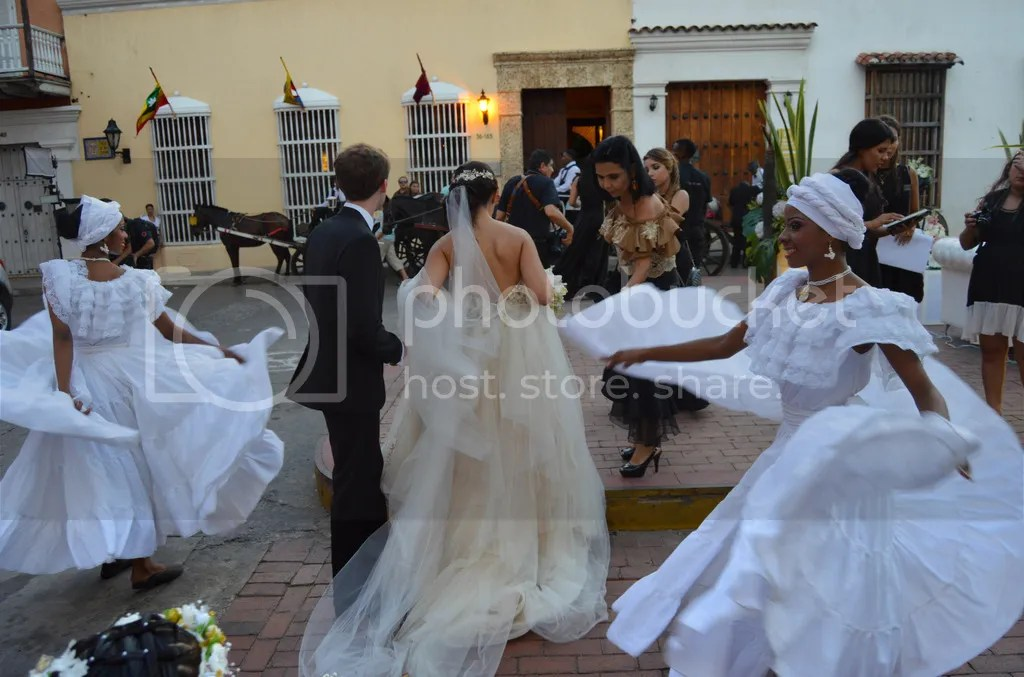 Magical Wedding in Cartagena, Colombia