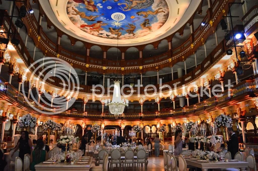 Heredia Theatre-Wedding decor