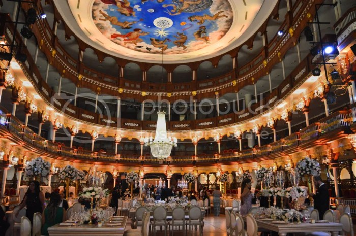 Heredia Theatre-Wedding decor