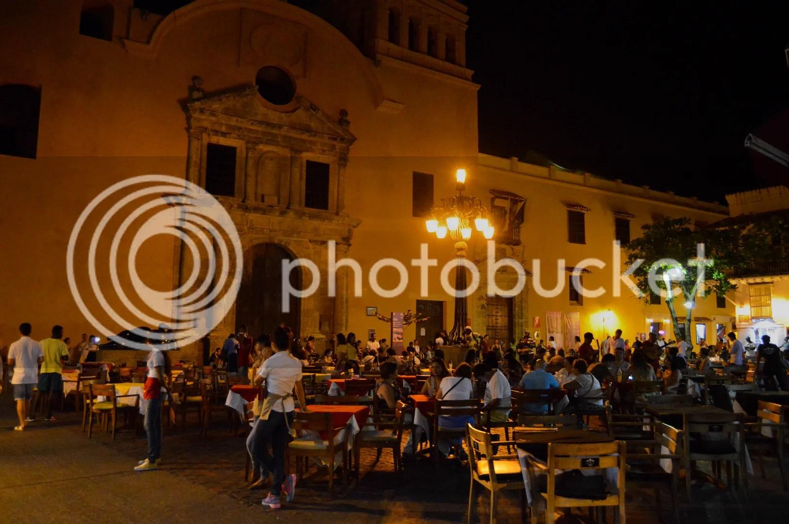 """Plaza Santo Domingo, home to the fat lady statue """"La Gordita"""""""