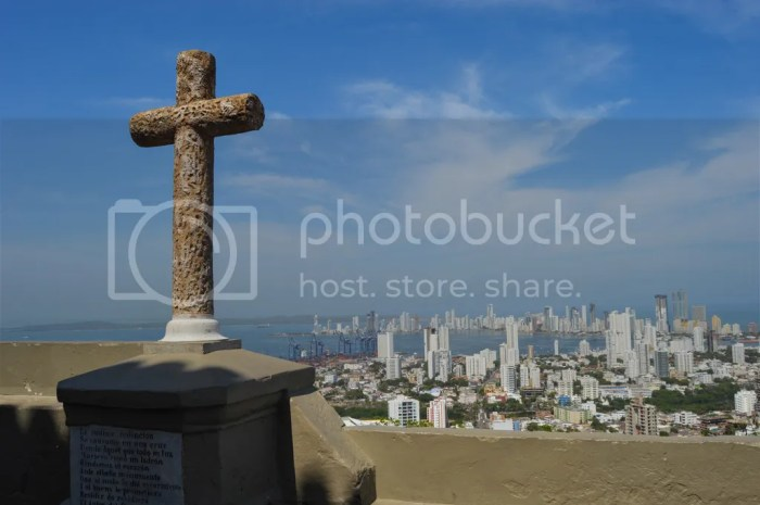 The best view of Cartagena, Colombia- La Popa